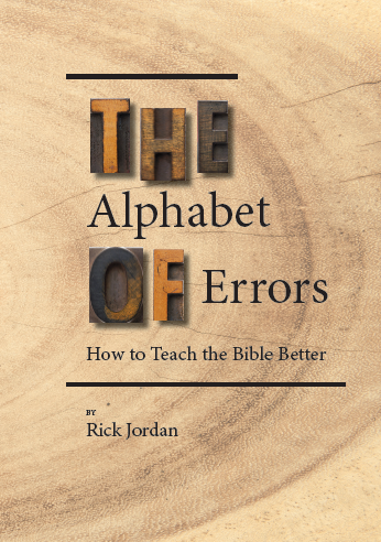 Picture of book cover for The Alphabet of Errors: How to Teach the Bible Better