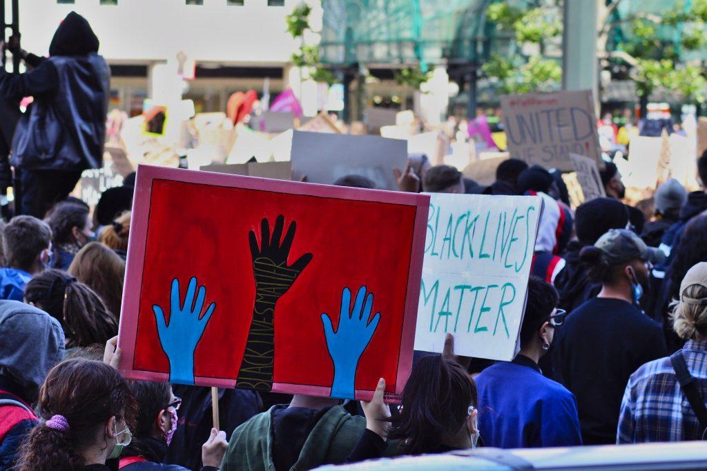 Black Lives Matter protest march